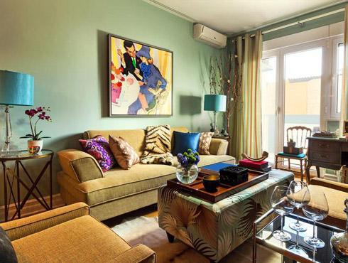 Casa Rustico Moderno: Arredamento soggiorno rustico moderno ...